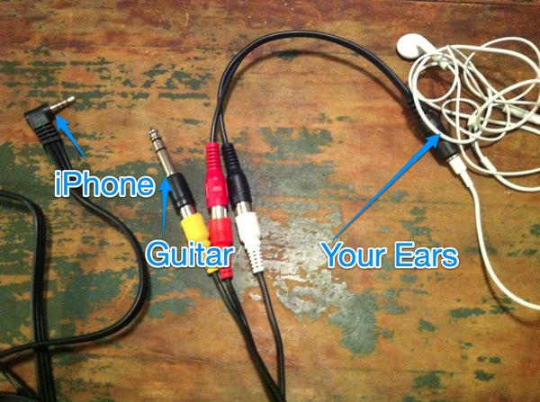 Plug Your Guitar Into Your Iphone And Ipad With This Diy