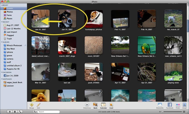How To Consolidate Your iPhoto Library and Remove Duplicates