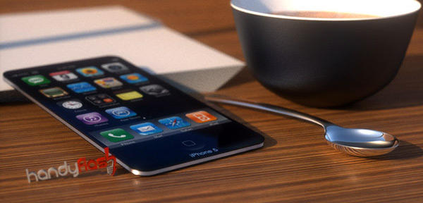 iPhone 5 mockup by HandyFlash.