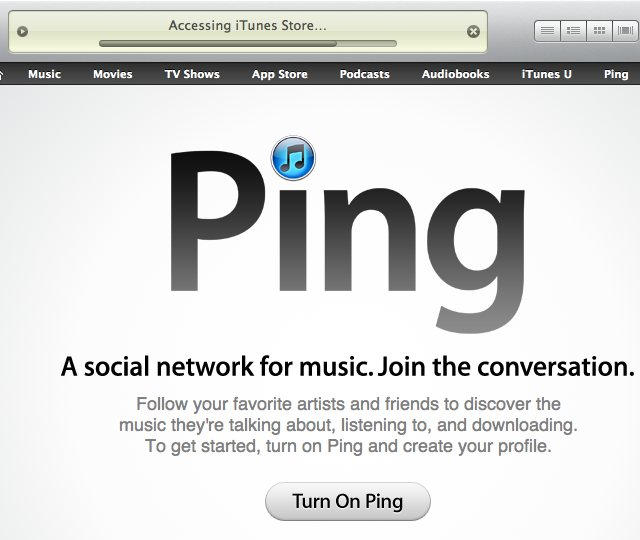 ping-itunes