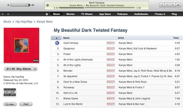 ITunes Song Samples Now Increased To 90 Seconds