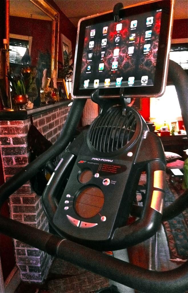 The Artsfish iPad Exercycle