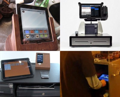 iPad Cash Register Collage