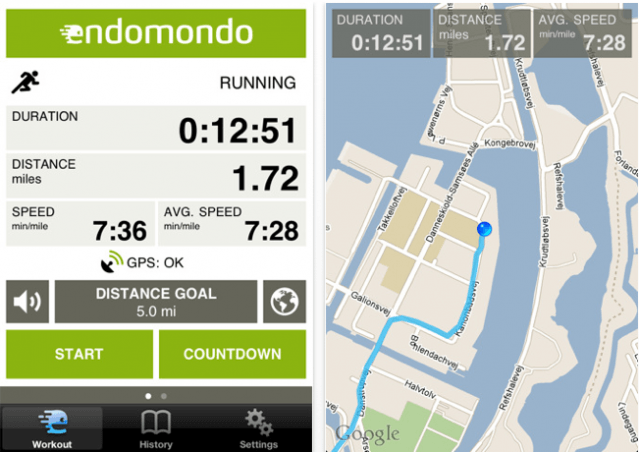 endomondo gratis iphone