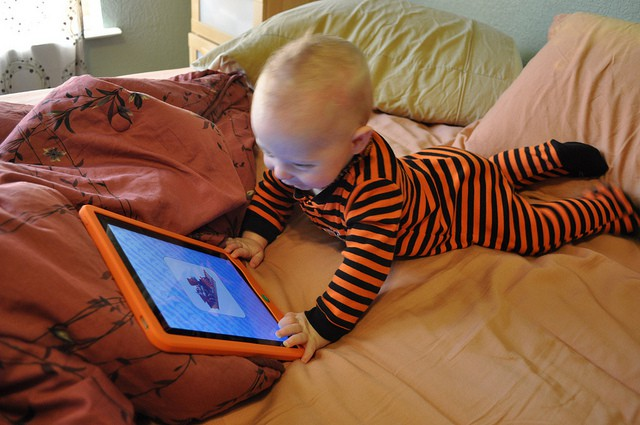 Are Mobile Devices Key To This Kid's Future? Photo by: Oxtopus/Flickr