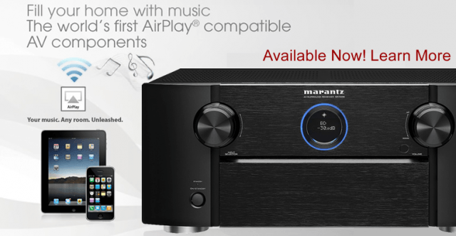 Denon and Marantz Want $50 To Upgrade Your A/V Equipment To