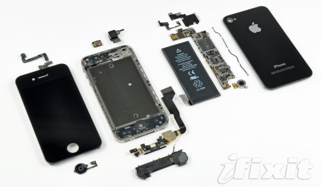 Verizon iPhone teardown