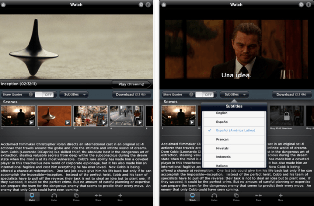Inception: Add Edition for iOS