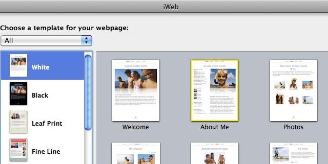 Updating iweb blog from iphone