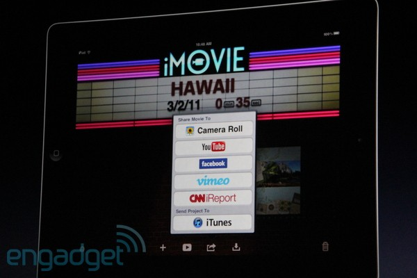 iMovie Officially Announced For iOS | Cult of Mac