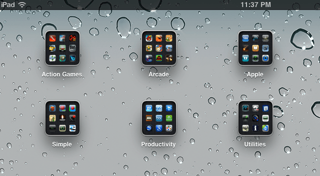 How to organize your ipad the right way video how to for Cool way to arrange iphone apps