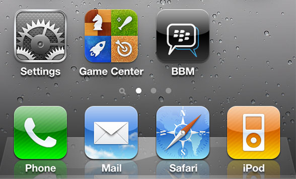 Report: RIM To Bring BlackBerry Messaging To The App Store | Cult of Mac