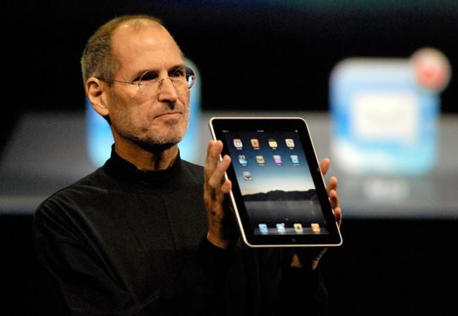 Steve & iPad