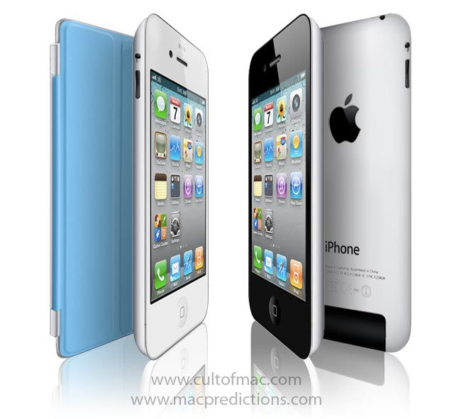 iPhone 5 Mockup With iPad 2 Motif