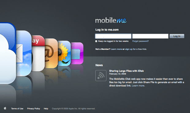Report: Apple To Relaunch MobileMe Next Month