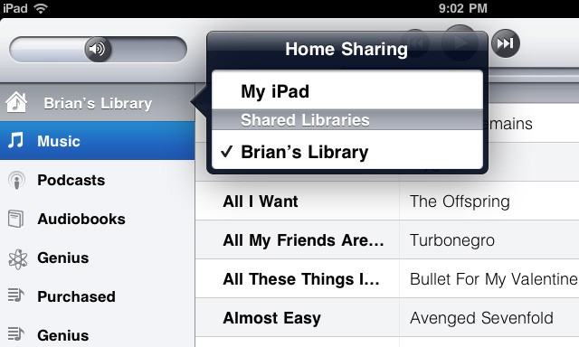 Sneak Peek How Ios 4 3 S Itunes Home Sharing Feature Works