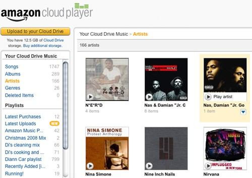 Amazon's Cloud Drive and Cloud Player on a Mac