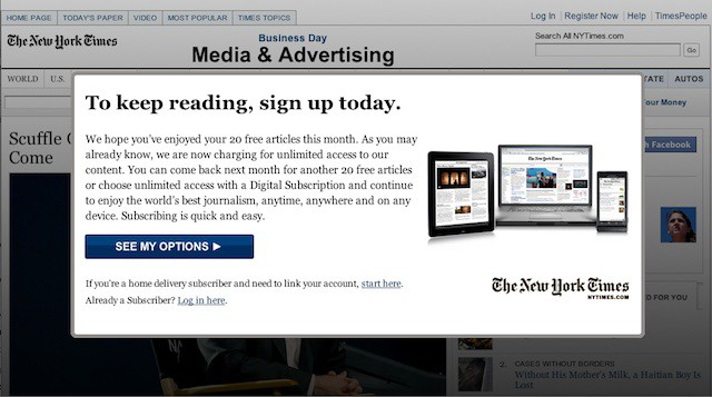 Read New York Times For Free, Courtesy of Safari [Easiest
