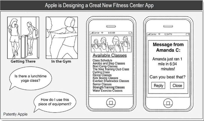 Apple-fitness-center-app-patent