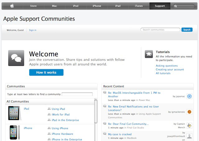 applesupportcomm