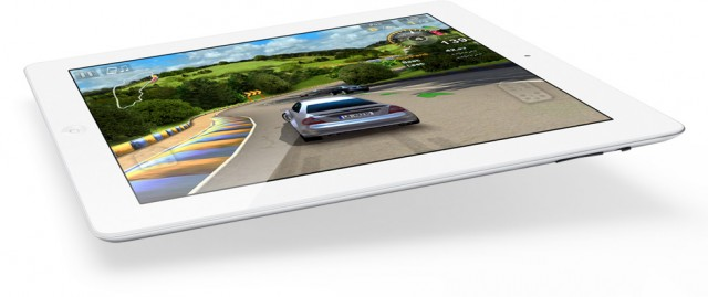 ipad 2 white flat game
