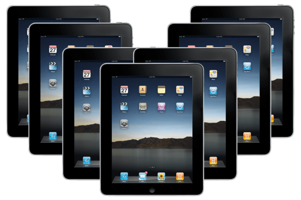 Pack Of Ipad Wod September 2011: 85% Of All Tablets Are IPads