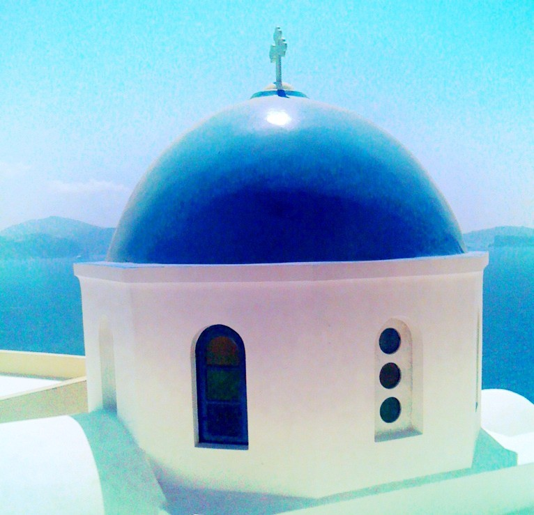 Santorini Dome - Cross Process