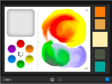 Adobe Color Lava iPad