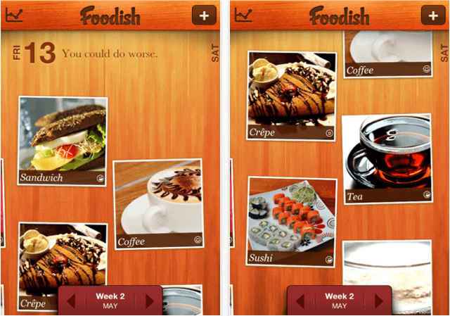 Foodish for iPhone