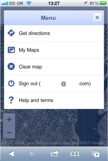 Google Maps web app 2