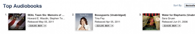 Navy Seals Who Killed Bin-Ladin Bump Tina Fey as Bestselling