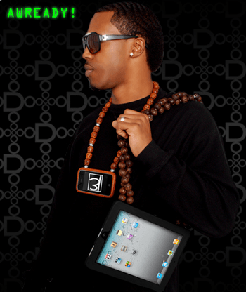 Behold the iPad necklace.