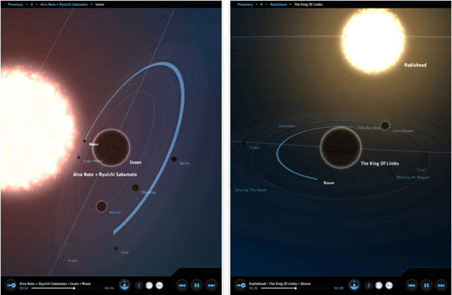 Planetary for iPad