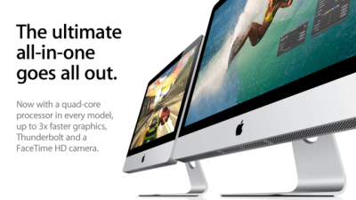 New iMacs May 2011