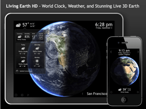 Living Earth HD for iOS