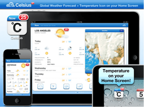 Celsius for iOS