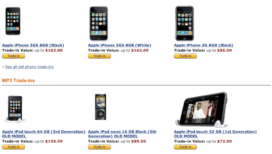 amazon iphone trade in will now let you trade in your iphone or 13388