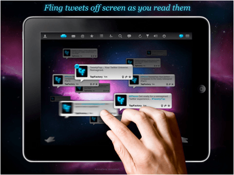 TweetyPop iPad