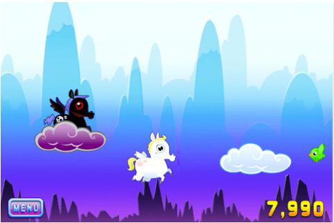 Unpleasant Horse on iPhone
