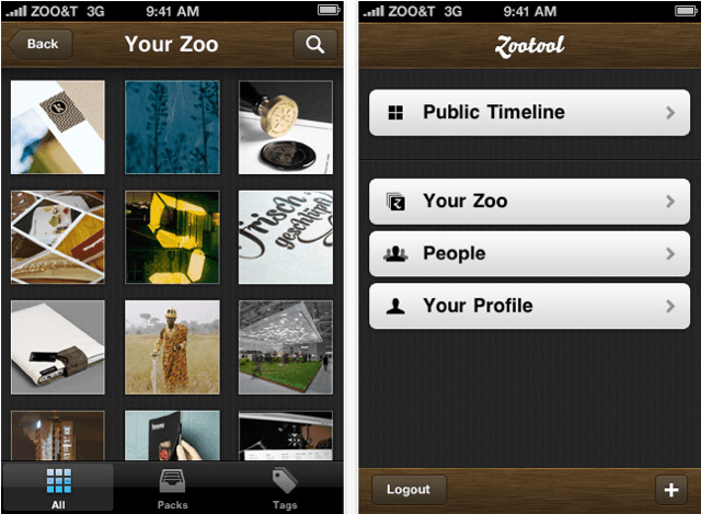 Zootool for iPhone