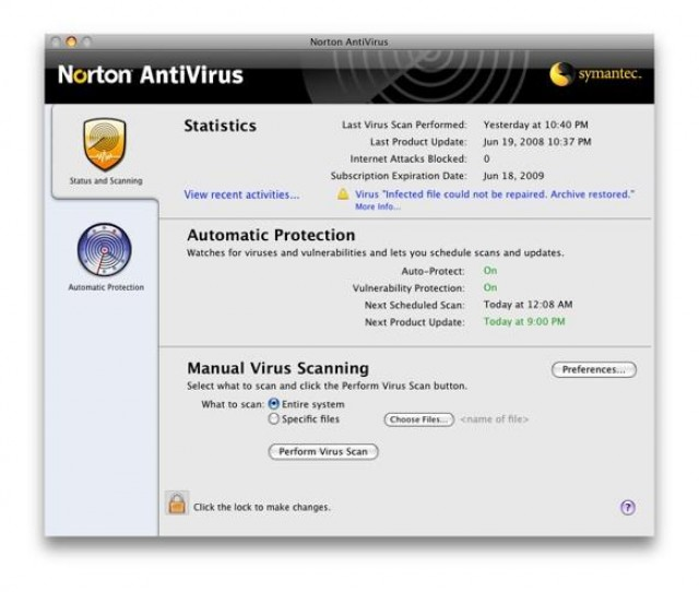 how to scan file for virus on mac