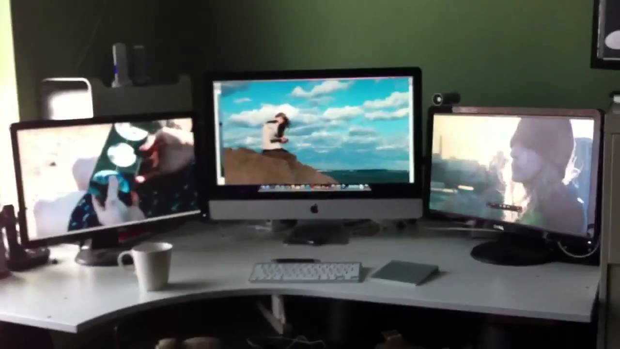 Hook Up 3 Monitors To Imac