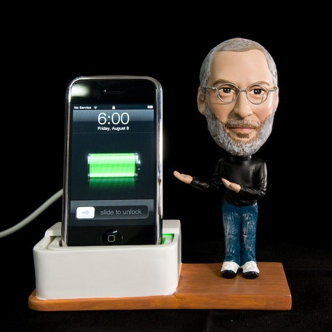 Steve Jobs iPhone Charger