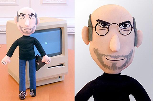 Plush Steve Jobs