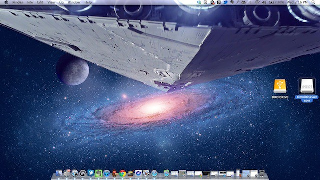 Check Out This Cool Star Wars Os X Lion Mash Up Wallpaper Geek Humor