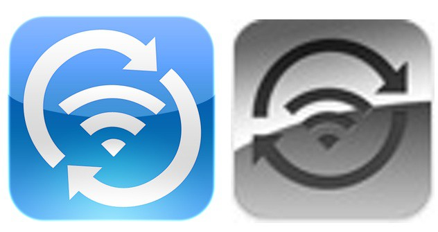 greg hughes wifi sync app icon is on the left apples official wifi sync
