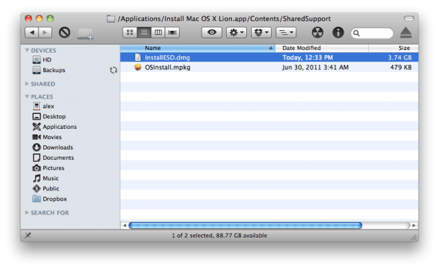 How to Make a Bootable Install Disk of Mac OS X Lion | Cult of Mac