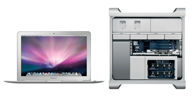 MacBook Air and Mac Pro