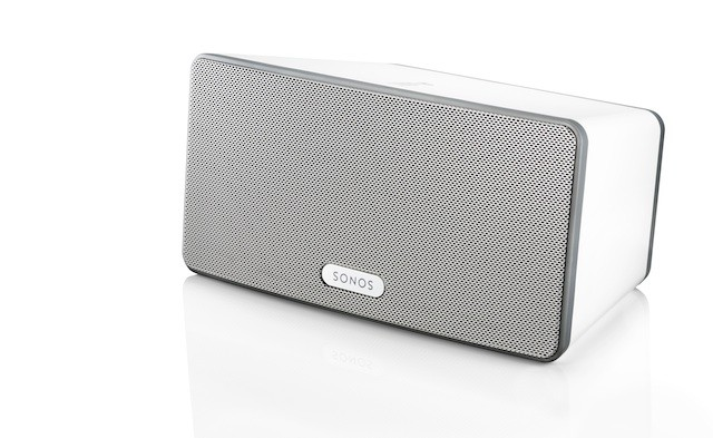 The Sonos Play 3 also comes in Black with a graphite grille.