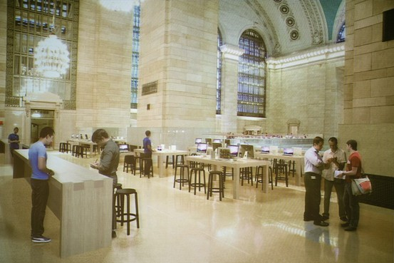 How proposed Grand Central Apple Store May Look (image: wsj.com)
